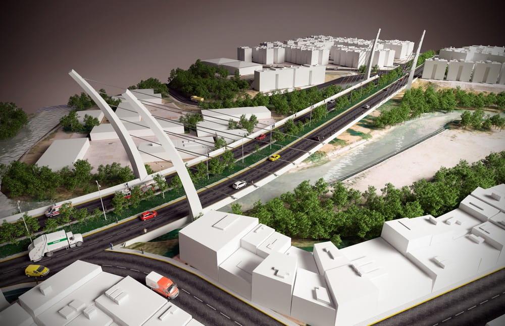 Maqueta virtual de adecuación urbana