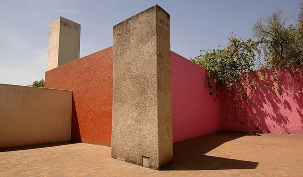 La casa Luis Barragán es un hermoso ejemplo de la arquitectura mexicana.