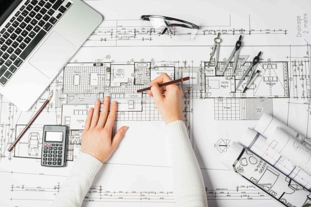 El plano arquitectónico es la célula del proyecto.