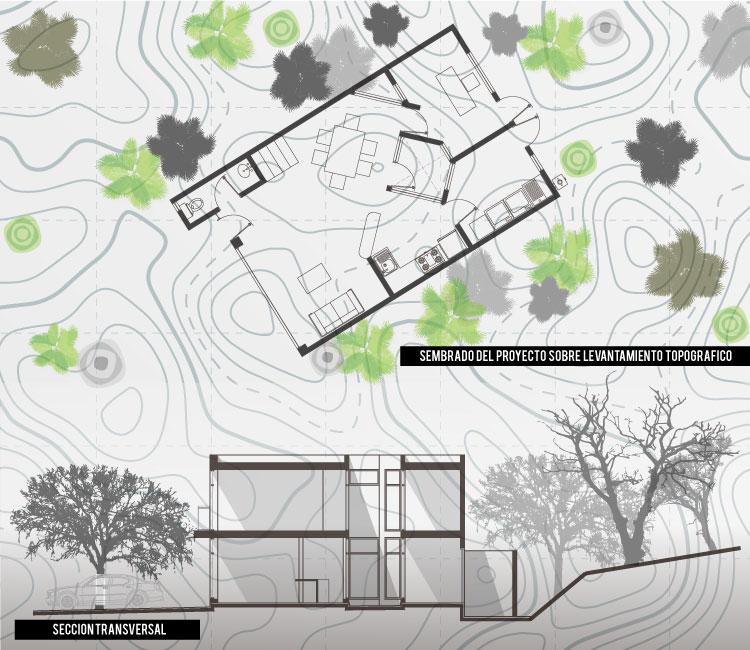 Levantamiento Topográfico para sembrar un Proyecto Arquitectónico
