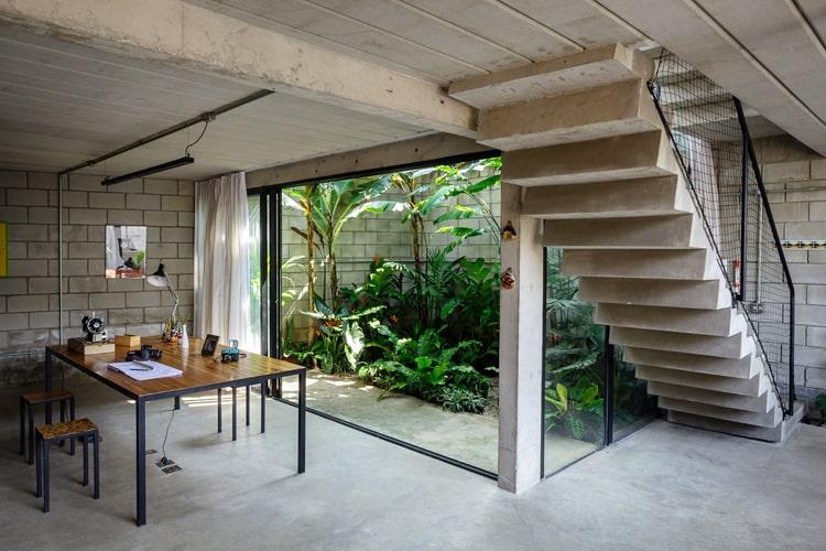 En pequeños espacios abiertos se pueden diseñar hermosos jardines
