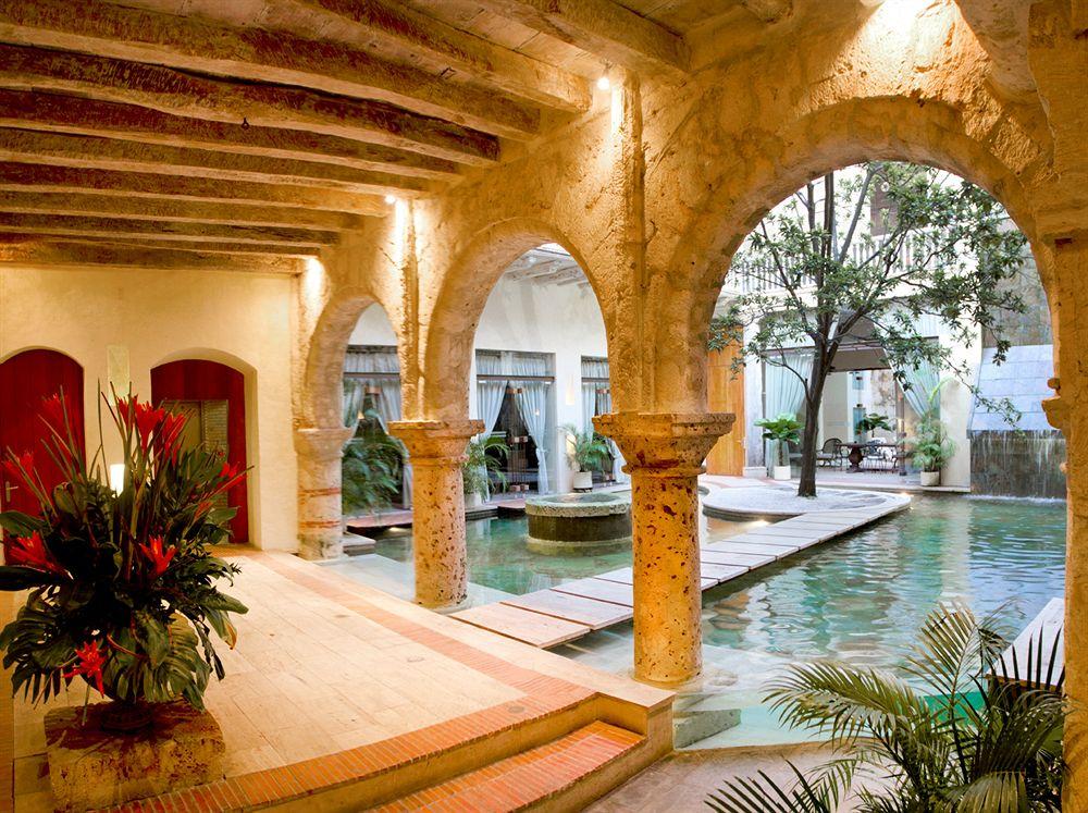 La piedra es un material básico en el diseño de la casa colonial