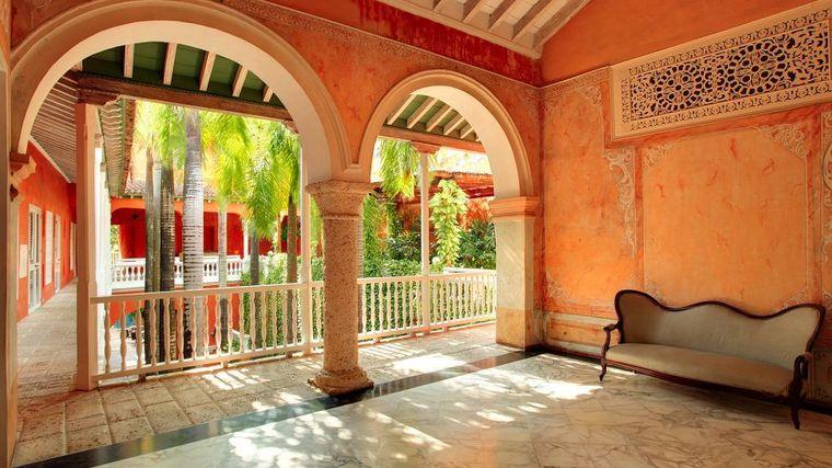 Los arcos, son elementos representativos de la casa colonial