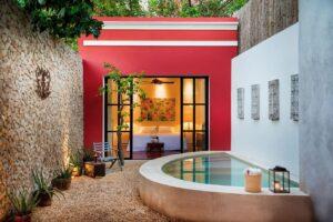 La casa colonial moderna es funcional y cómoda