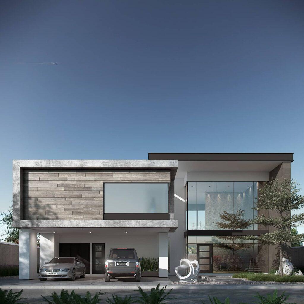 Las casas distribuidas en dos pisos son muy atractivas y funcionales