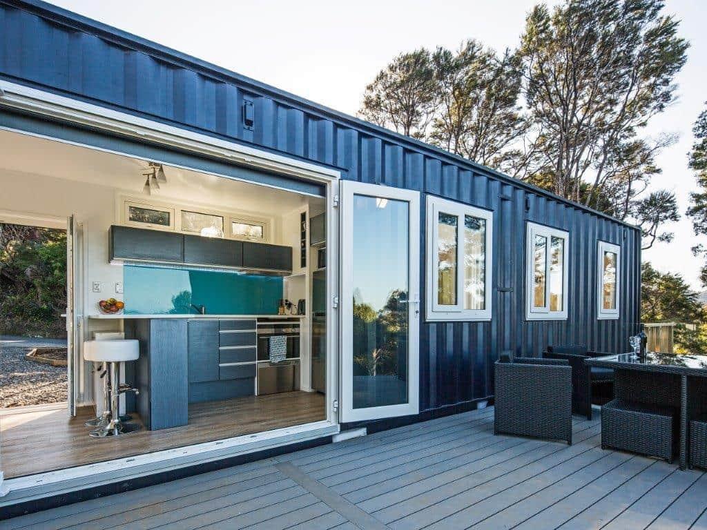 Diseño de casa con contenedores