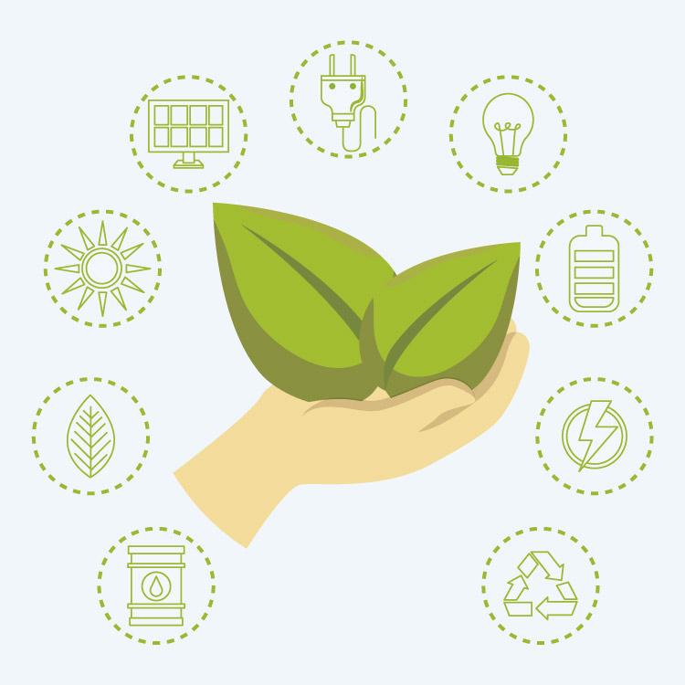 La casa ecológica se basa en reducir, reutilizar, reciclar