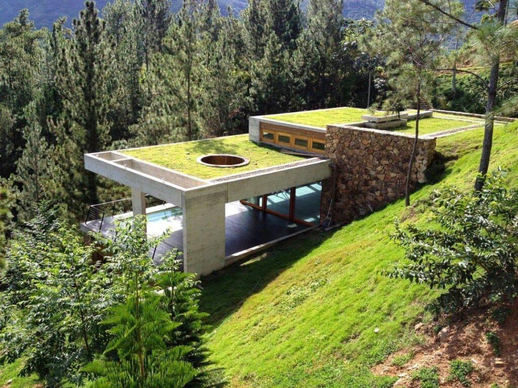Una casa ecológica