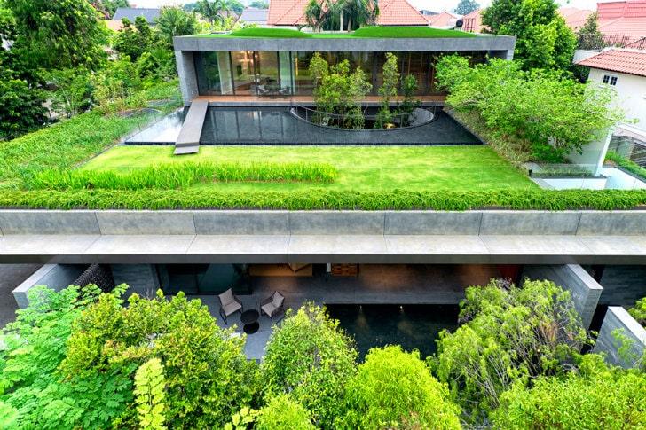 Un techo verde en azotea puede ser un jardín muy agradable