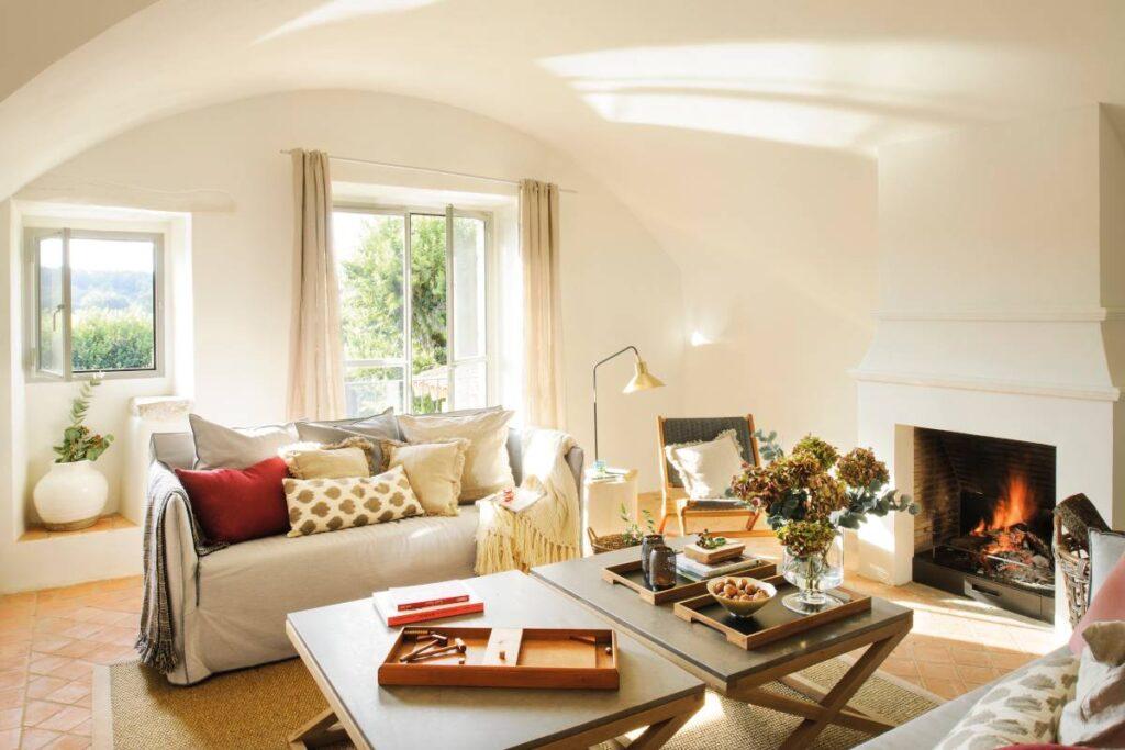 Una sala es uno de los espacios más importantes en una casa