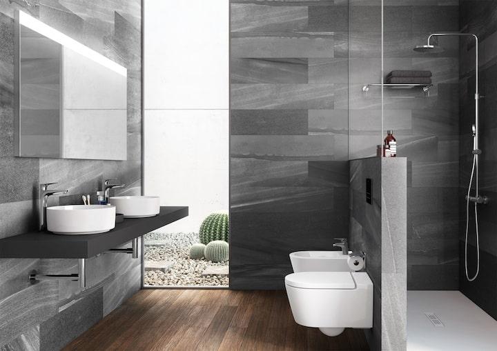 Diseño de baños minimalistas (1. Colecciones de Baño. Roca)