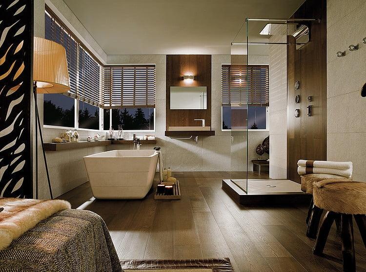 Baño con ducha y tina (1. Baños Grupo Porcelanosa)