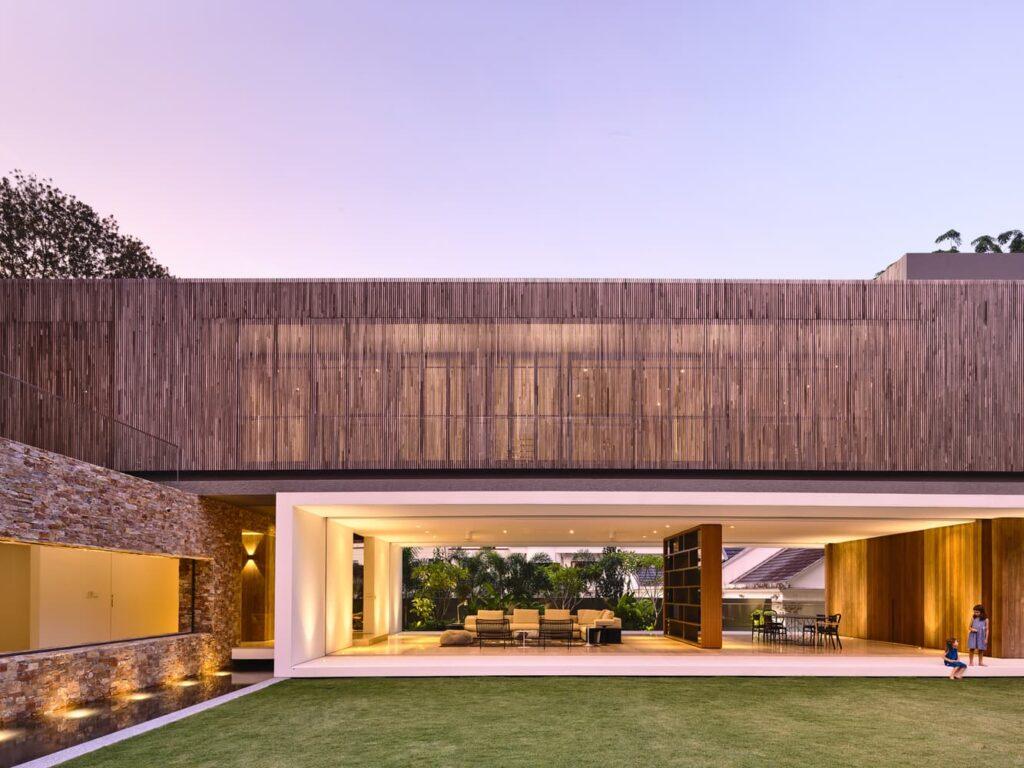 hermoso diseño de casas de dos pisos