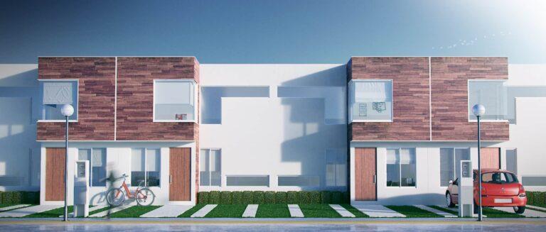 Casa moderna pequeña