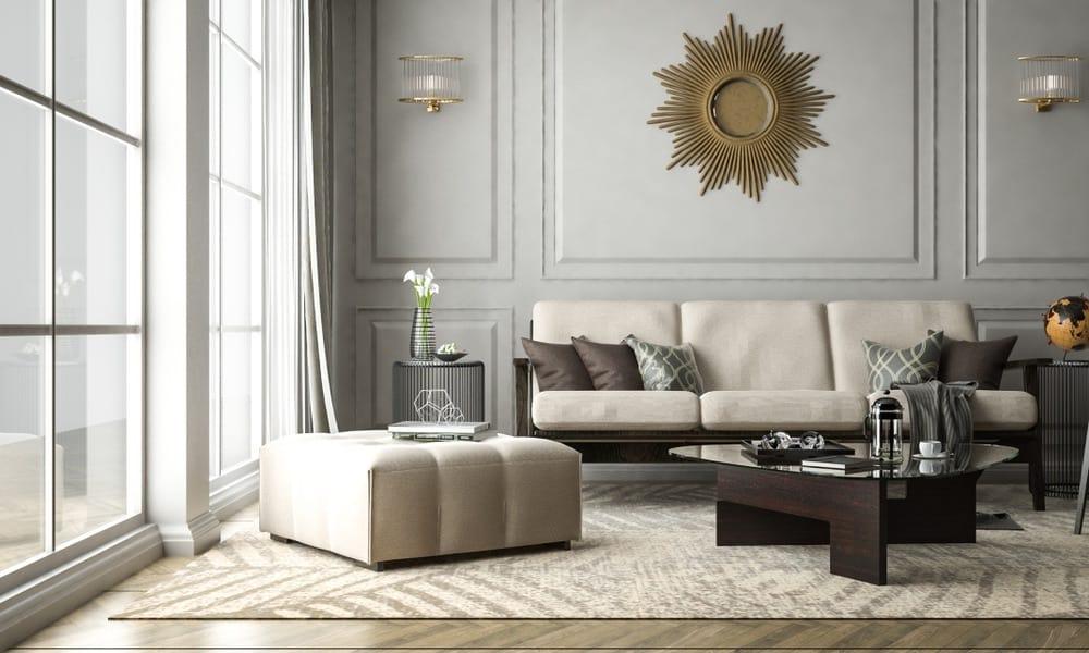 Diseño de interiores para una casa de lujo